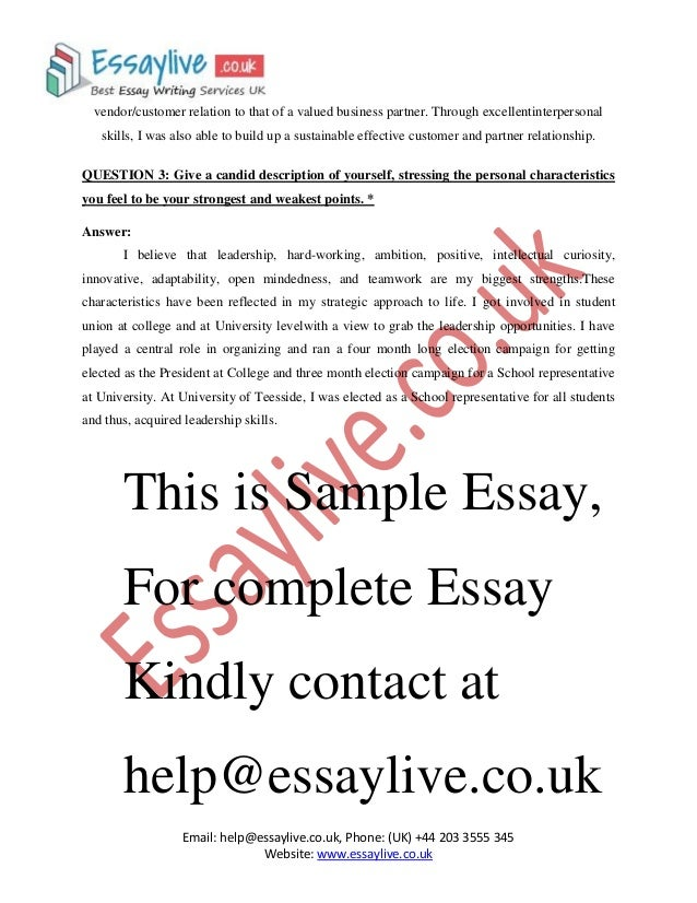 give a candid description of yourself mba essay Insead mba essay 1 tips: give a candid description of yourself (who 19 oct 2015 using real sample college essays that worked will give you a great college essay.