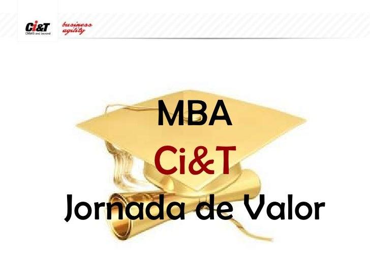 MBACi&TJornada de Valor<br />