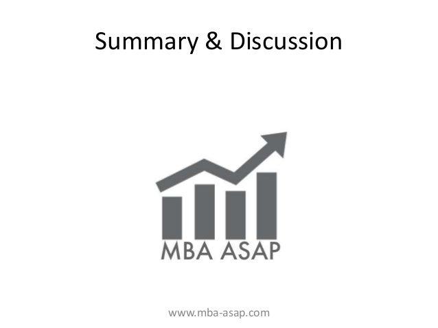 MBA ASAP