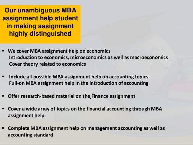 online mba assignment help by usaassignment  5 our unambiguous mba assignment help