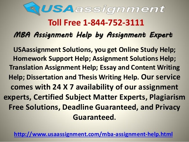 mba assignment help mba writing service