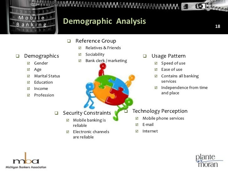 Demographic  Analysis<br />18<br />Reference Group<br />Relatives & Friends<br />Sociability<br />Bank clerk / marketing<b...