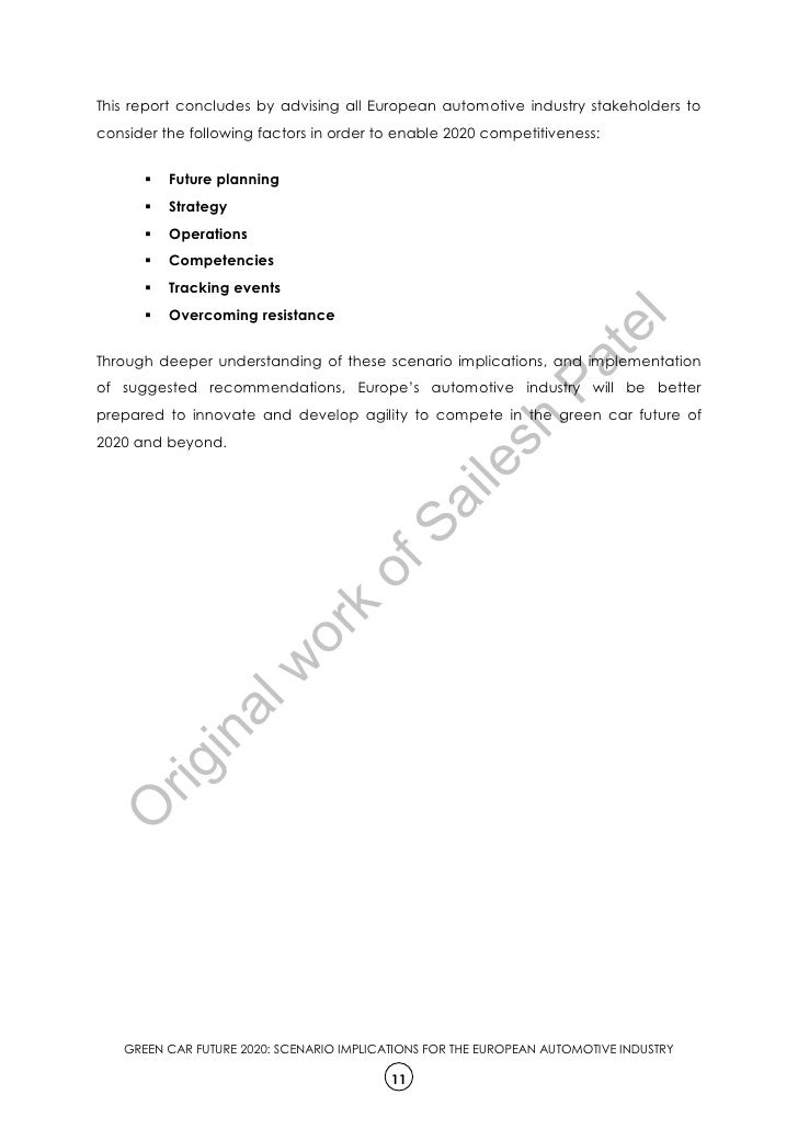 An example of a cover page for a research paper