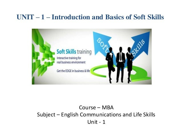 MBA I ECLS_U-1_introduction and basics of soft skills