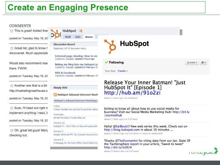 Create an Engaging Presence