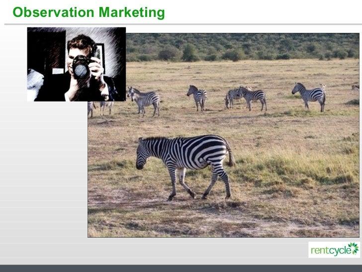 Observation Marketing