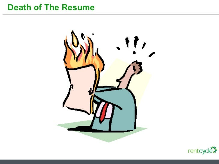 Death of The Resume