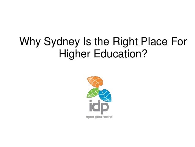 Why Sydney Is the Right Place For Higher Education?
