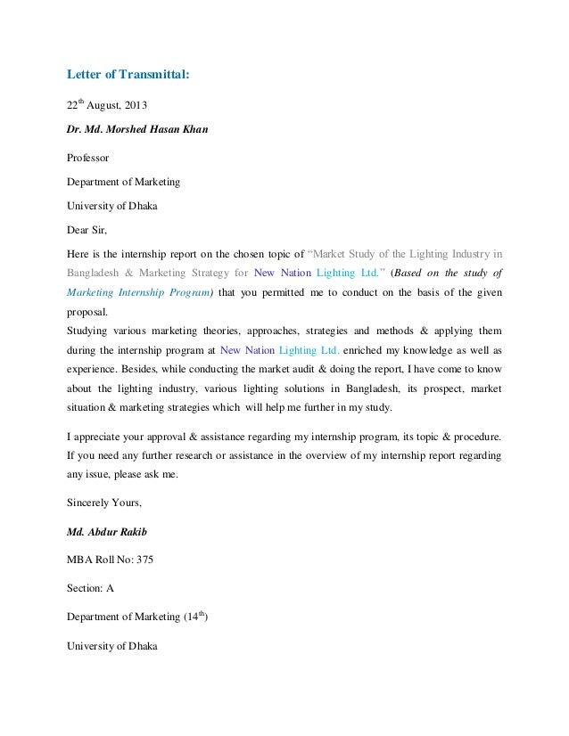 Mba internship report letter spiritdancerdesigns Choice Image