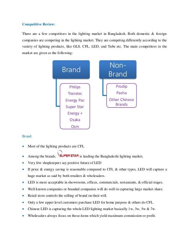 Mba Internship Report