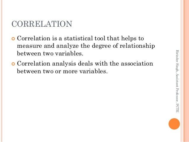 Correlation Analysis Slide 2