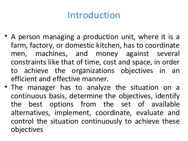 quantitative techniques of management 1 Chapter 1 the role and function of quantitative methods in health services management learning objectives after studying this chapter, you should be able to.
