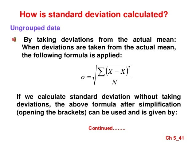 Mba i qt unit 21measures of variations 41 ch 541 how is standard deviation calculated ccuart Image collections