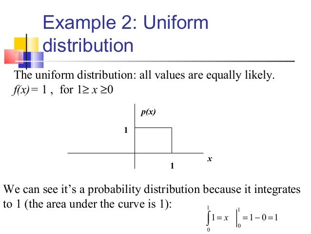 Mba I Qt Unit 41introduction To Probability Distributions