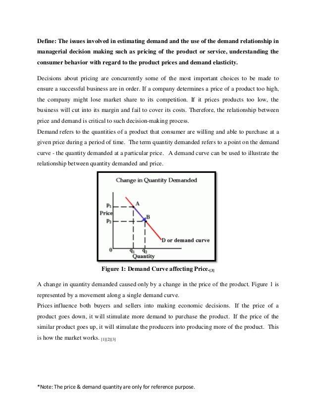 define quantity demanded in economics