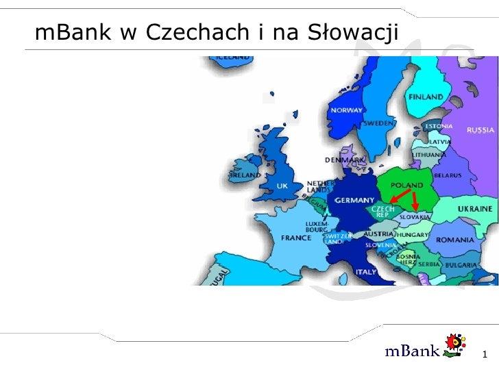mBank w Czechach i na Słowacji