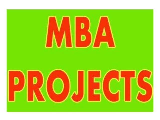 Mba project in hyderabad india Slide 3