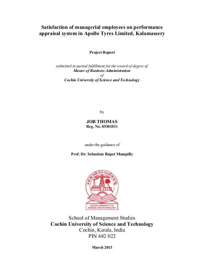 Mba Project Report Pdf