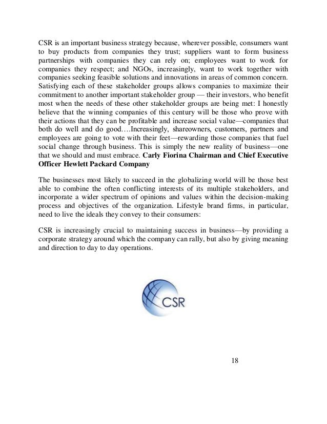 Corporate social responsibility of multinational companies in Pakistan - ePrints Soton