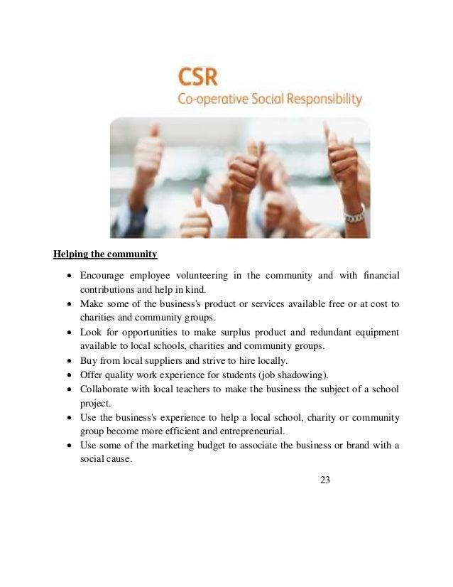 Csr dissertations