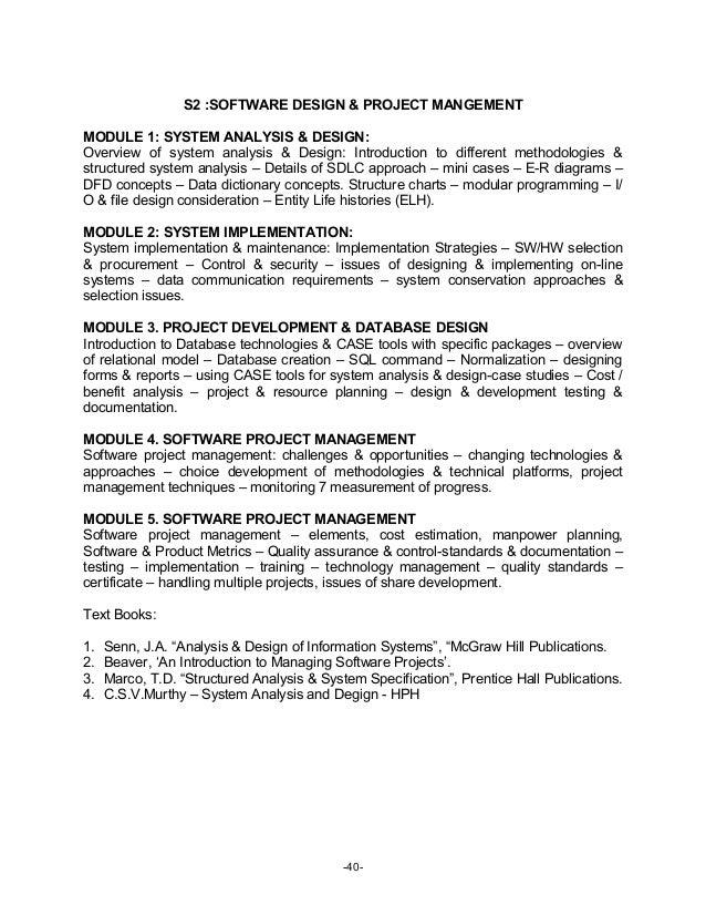 Mba syllabus for Bangalore University