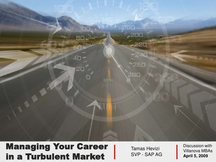 Managing Your Career    Tamas Hevizi                                        Discussion with                               ...