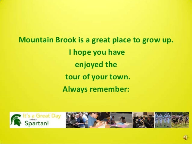 Mountain Brook PPT Game for 1st Grade