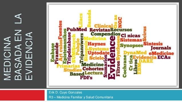 Medicina basada en la evidencia: Cómo practicar y enseñar la medicina basada en la evidencia