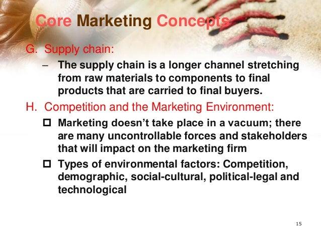 การขาย ๑.จุดที่เน้น คือ การมีผลิตภัณฑ์เสนอขายกับ ลูกค้า ๒.บริษัททาการผลิตสินค้าขึ้นมาก่อน แล้ว จึงหาวิธีในการ ขายสินค้าให้...