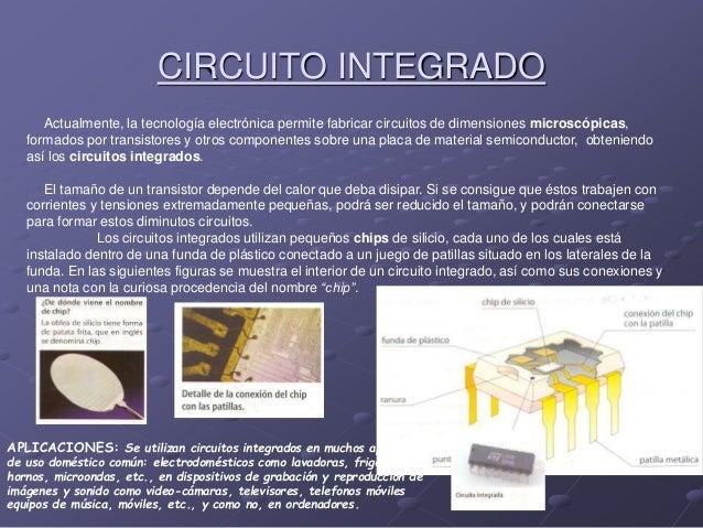 Circuito Integrado De Dimensiones Muy Pequeñas : Electronica analogica