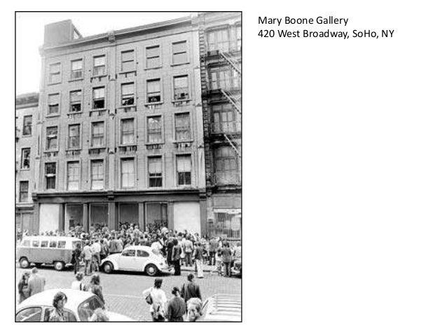 Julian Schnabel Mary Boone Gallerys 1979