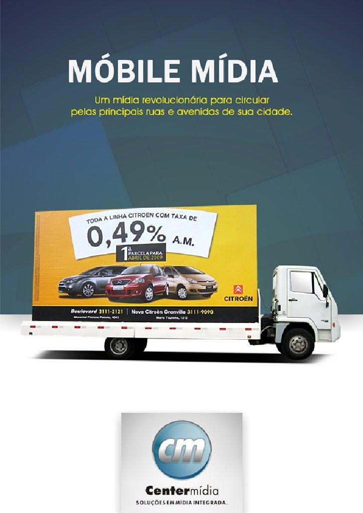 Móbile Mídia - Centermídia