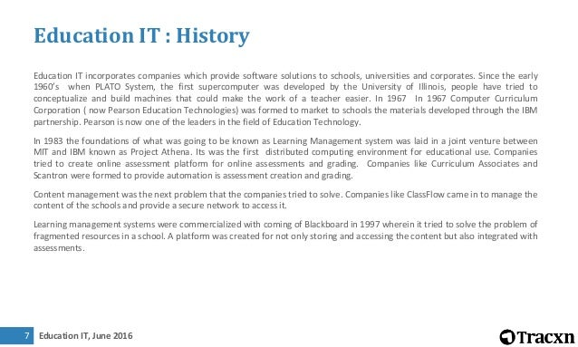 Tracxn report education it landscape june 2016 fandeluxe Choice Image