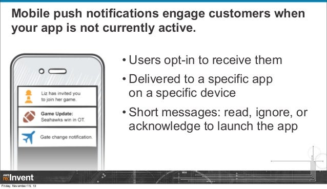 Engage Your Customers with Amazon SNS Mobile Push (MBL308