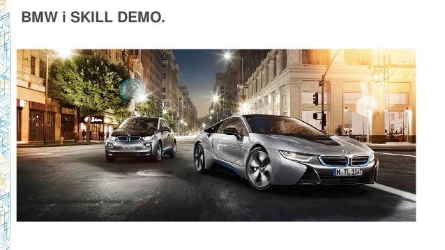 BMW i SKILL DEMO.