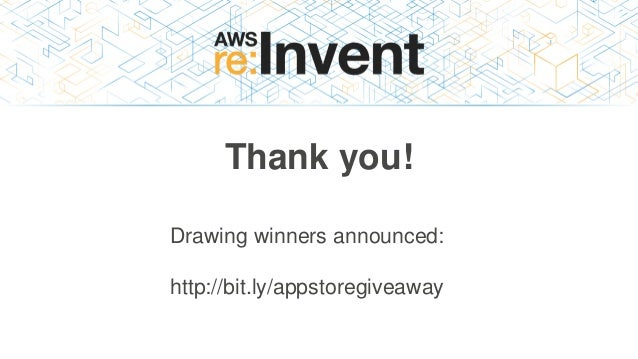 Thank you! Drawing winners announced: http://bit.ly/appstoregiveaway