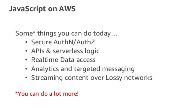 Analytics, Authentication and Data with AWS Amplify - MBL403