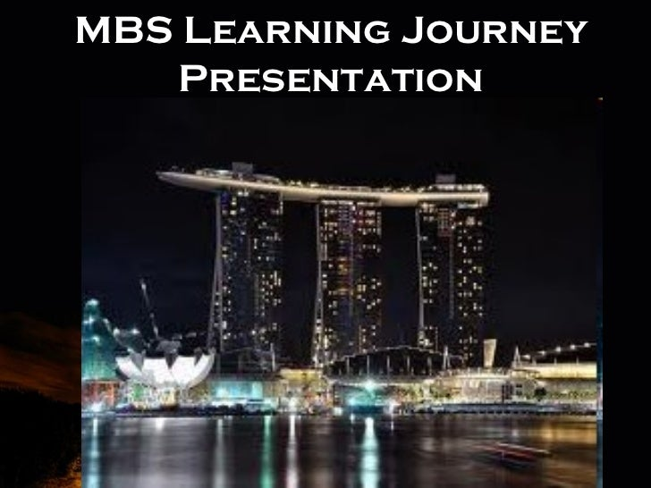 MBS Learning Journey   Presentation      Powerpoint Templates                             Page 1