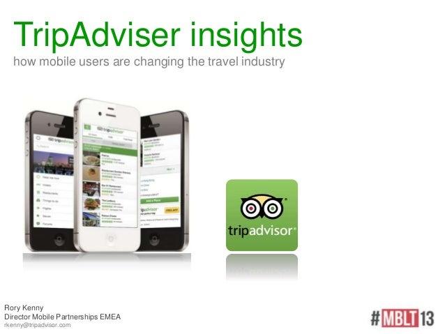 Rory Kenny (TripAdvisor) «Travel goes mobile — tips of the trade»