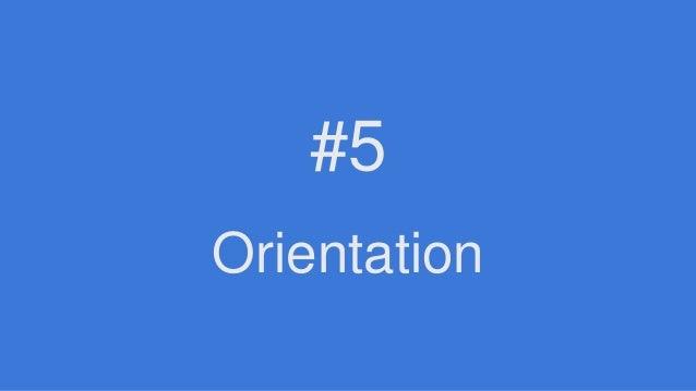 Orientation #5