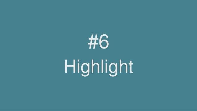 Highlight #6