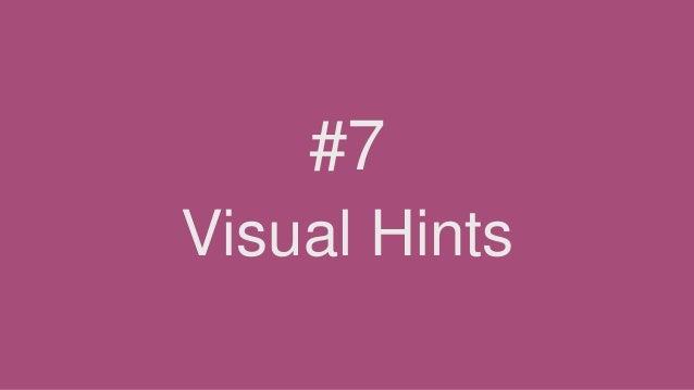Visual Hints #7