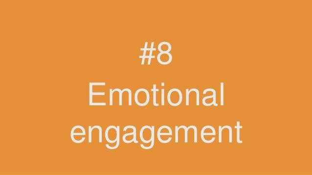 Emotional engagement #8