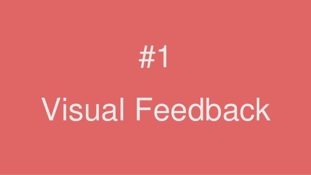 Visual Feedback #1