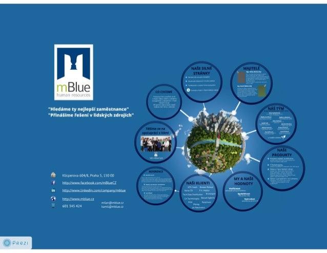 mBlue představení společnosti