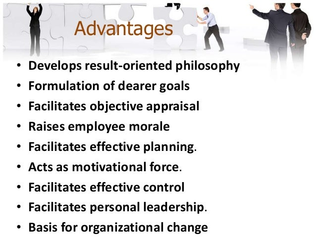 Limitations • Time-consuming • Failure to teach MBO philosophy • Reward-punishment approach • Increases paper-work • Creat...