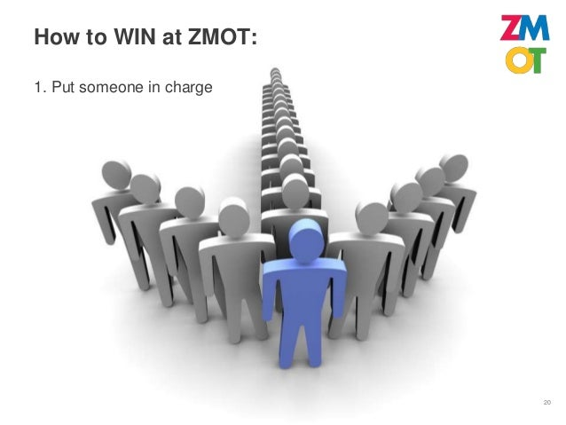 How to WIN at ZMOT:2. Find Your Zero Moments                            21