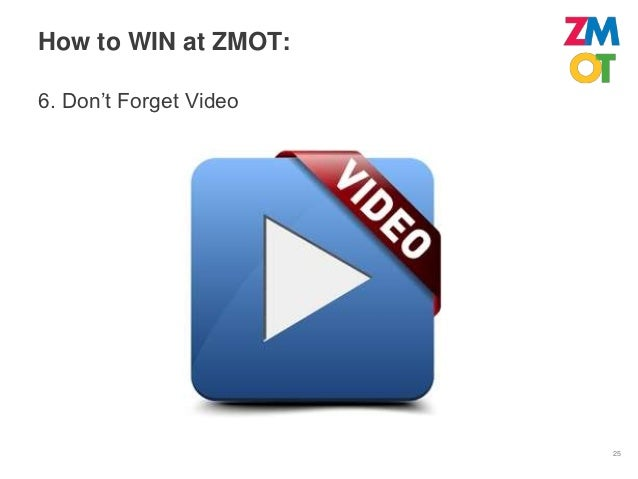 How to WIN at ZMOT:7. Start                      26