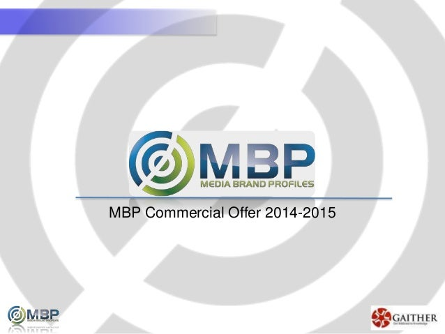 MBP Commercial Offer 2014-2015