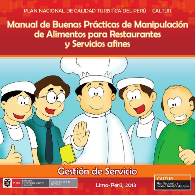 Manual de buenas pr cticas de manipulaci n de alimentos for Buenas practicas de manipulacion de alimentos